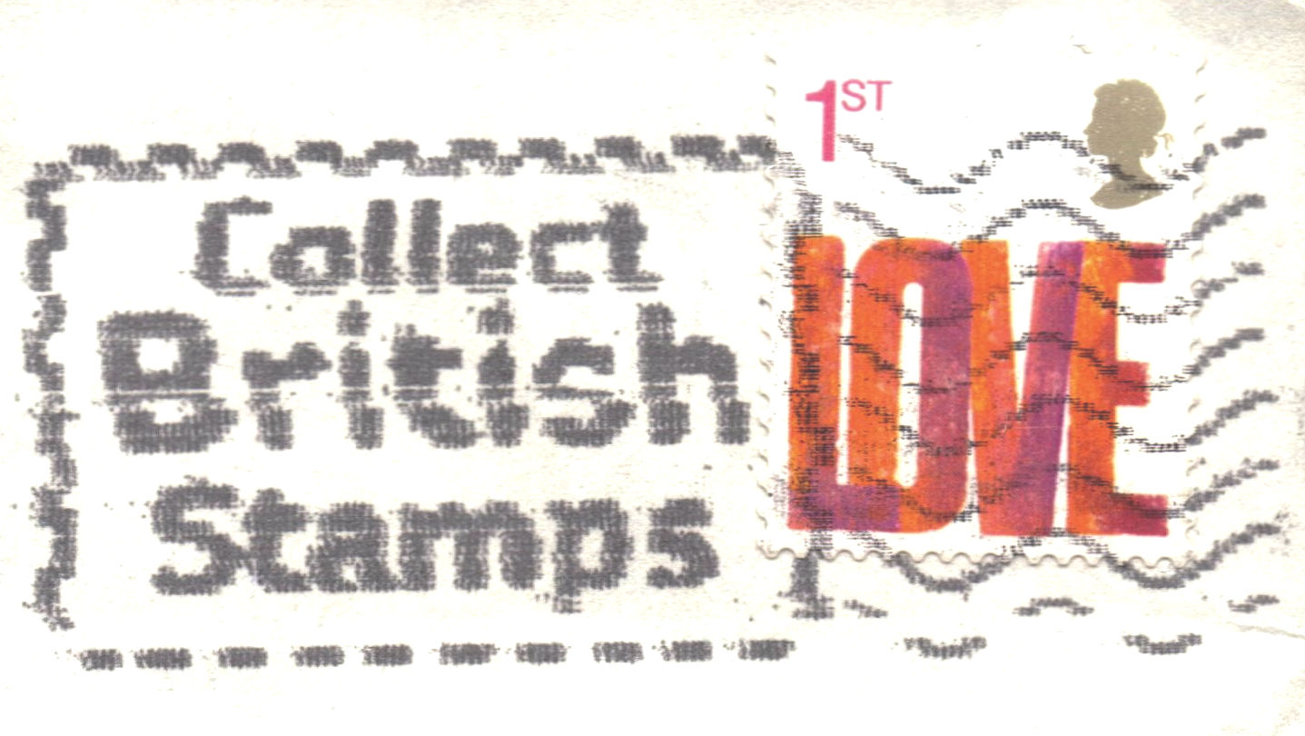 You know to makes sense to collect British stamps!
