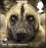 World Wildlife Fund 1st Stamp (2011) African Wild Dog