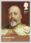 The House of Windsor 1st Stamp (2012) Edward VII (1901 - 1910)