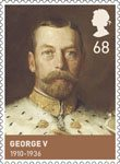 The House of Windsor 68p Stamp (2012) George V (1910-1936)