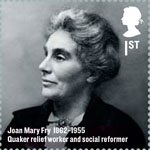 Britons of Distinction 1st Stamp (2012) Joan Mary Fry