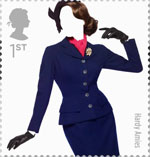 Great British Fashion 1st Stamp (2012) Hardy Amies
