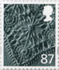Country Definitive - Tariff 2012 87p Stamp (2012) Linen
