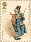 Charles Dickens 2nd Stamp (2012) Mr Bumble