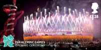 Memories of London 2012 £1.28 Stamp (2012) Paralympic Games - Opening Ceremony