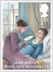 Jane Austen 1st Stamp (2013) Sense and Sensibility