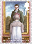Jane Austen 1st Stamp (2013) Pride and Prejudice