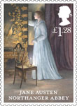 Jane Austen �1.28 Stamp (2013) Northanger Abbey