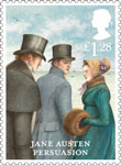 Jane Austen �1.28 Stamp (2013) Persuasion