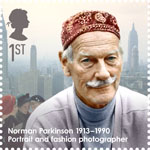 Great Britons 1st Stamp (2013) Norman Parkinson (1913-1990)