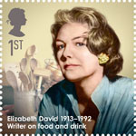 Great Britons 1st Stamp (2013) Elizabeth David (1913-1992)