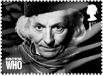Classic TV - 50 Years of Doctor Who 1st Stamp (2013) William Hartnell