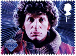 Classic TV - 50 Years of Doctor Who 1st Stamp (2013) Tom Baker