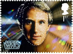 Classic TV - 50 Years of Doctor Who 1st Stamp (2013) Peter Davison