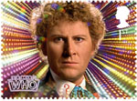 Classic TV - 50 Years of Doctor Who 1st Stamp (2013) Colin Baker