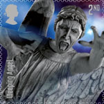 Classic TV - 50 Years of Doctor Who 2nd Stamp (2013) Weeping Angel