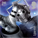 Classic TV - 50 Years of Doctor Who 2nd Stamp (2013) Cybermen