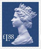 New Definitives 2013 £1.88 Stamp (2013) £1.88 Sapphire Blue