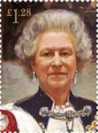 Royal Portraits £1.28 Stamp (2013) Portrait by Sergei Pavlenko 2000