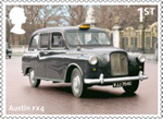 British Auto Legends 1st Stamp (2013) Austin FX4