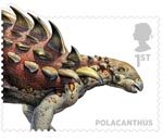 Dinosaurs 1st Stamp (2013) Polacanthus