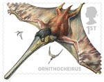 Dinosaurs 1st Stamp (2013) Ornithocheirus