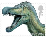 Dinosaurs 1st Stamp (2013) Baryonyx