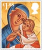 Christmas £1.88 Stamp (2013) Theotokos, Mother of God