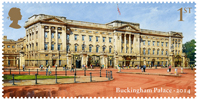 Buckingham Palace 1st Stamp (2014) Buckingham Palace 2014