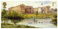Buckingham Palace 1st Stamp (2014) Buckingham Palace 1846