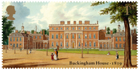 Buckingham Palace 1st Stamp (2014) Buckingham Palace 1819