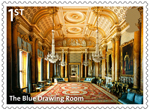 Buckingham Palace 1st Stamp (2014) The Blue Dining Room