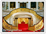 Buckingham Palace 1st Stamp (2014) The Grand Staircase