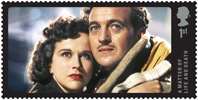 Great British Film 1st Stamp (2014) A Matter of Life and Death (1946)