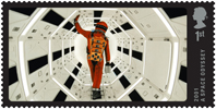Great British Film 1st Stamp (2014) 2001 A Space Odyssey (1968)