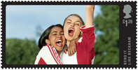 Great British Film £1.28 Stamp (2014) Bend It Like Beckham (2002)