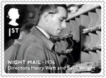 Great British Film 1st Stamp (2014) Night Mail (1936)