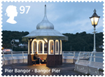 Seaside Architecture 1st Stamp (2014) Bangor Pier