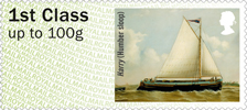 Post & Go : Working Sail 1st Stamp (2015) Harry