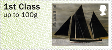 Post & Go : Working Sail 1st Stamp (2015) Margaret