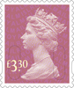 Definitives 2015 �30 Stamp (2015) Rose Pink