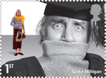 Comedy Greats 1st Stamp (2015) Spike Milligan