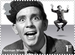 Comedy Greats 1st Stamp (2015) Norman Wisdom