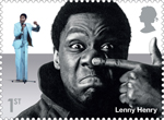 Comedy Greats 1st Stamp (2015) Lenny Henry