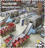Royal Mail 500 £1.52 Stamp (2016) Medway Mail Centre