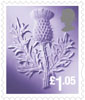 Country Definitives 2016 £1.05 Stamp (2016) Scotland