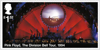 Pink Floyd £1.52 Stamp (2016) The Division Bell Tour, 1994
