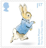 Beatrix Potter 1st Stamp (2016) The Tale of Peter Rabbit