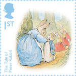 Beatrix Potter 1st Stamp (2016) The Tale of Peter Rabbit - One