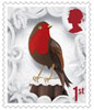 Christmas 1st Stamp (2016) Robin